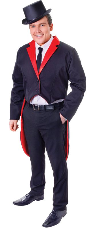 Black and Red Tailcoat