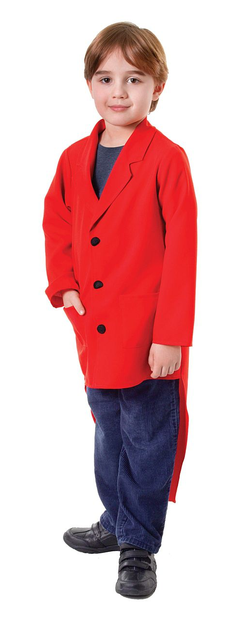 Child's Red Tailcoat
