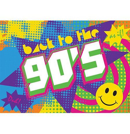 Click to view product details and reviews for 90s Themed Poster A3.