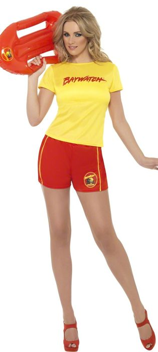 Baywatch Women's Beach Costume