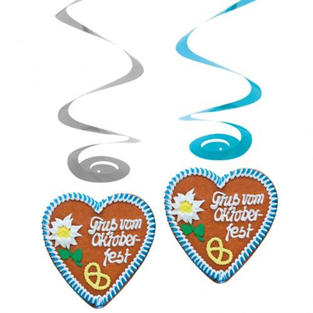 Click to view product details and reviews for Oktoberfest Hanging Swirl Decorations 80cm Pack Of 4.