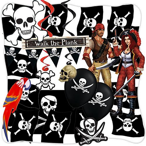 Pirate Decoration Pack