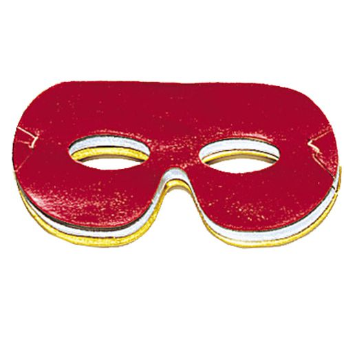 Pack of 8 Assorted Colour Foil Eyemasks