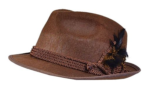 Oktoberfest Hat, Brown