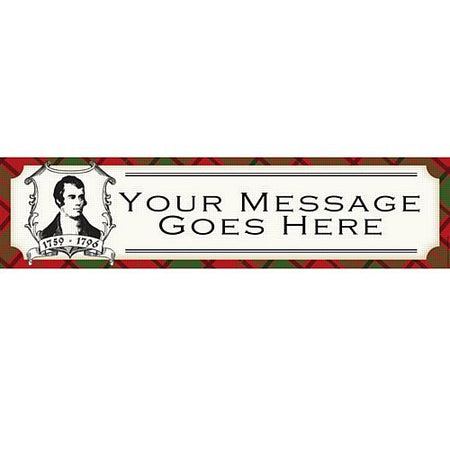 Click to view product details and reviews for Burns Night Personalised Banner 12m Event Banner 12m.