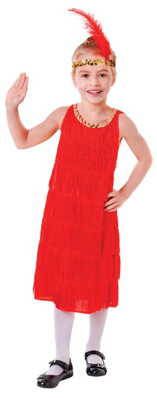 Red Flapper Dress