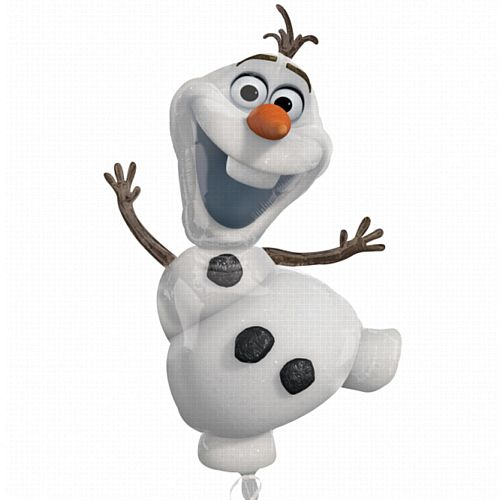 Lifesize Frozen Olaf Supershape Foil Balloon - 41""