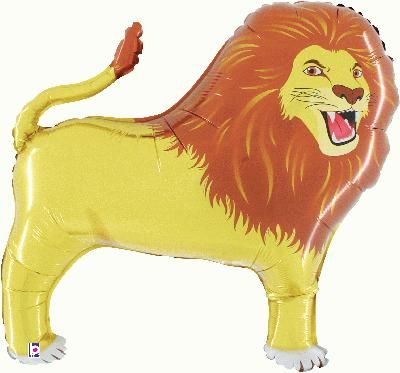 Lion Foil Balloon 41""