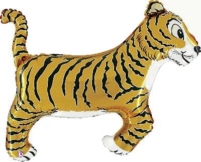 Tiger Foil Balloon 41""
