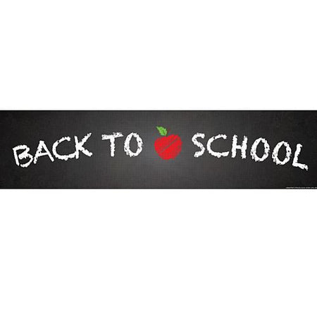 Back to School Banner - 1.2m