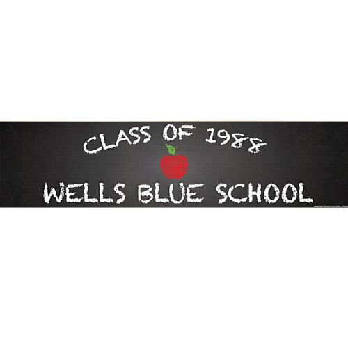 Back To School Personalised Banner - 1.2m