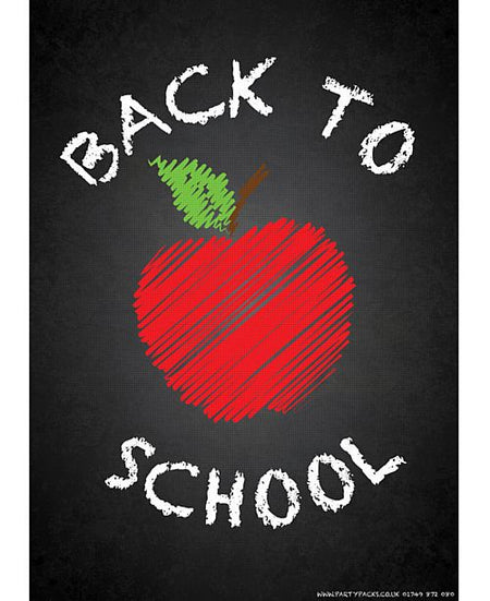 Back to School Poster - A3