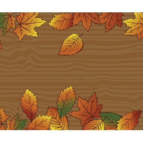 Thanksgiving Paper Table Runner - 120cm x 30cm