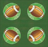 American Football Napkins - 33cm - Pack of 16