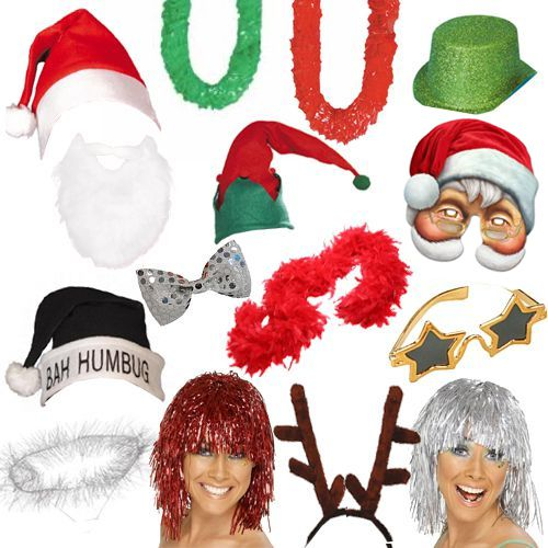 Christmas Fancy Dress Photo Booth Pack