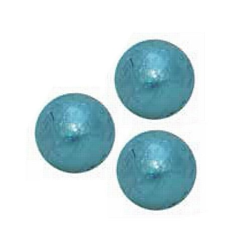 Light Blue Chocolate Balls - 5g - Each