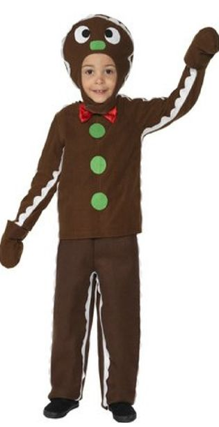 Little Gingerbread Man Costume