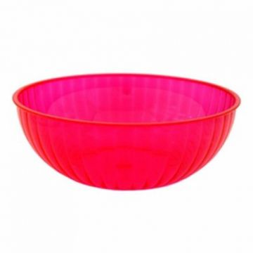 Neon Pink Large Serving Bowl - 4.7 litres