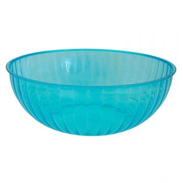 Neon Blue Large Serving Bowl - 4.7 litres