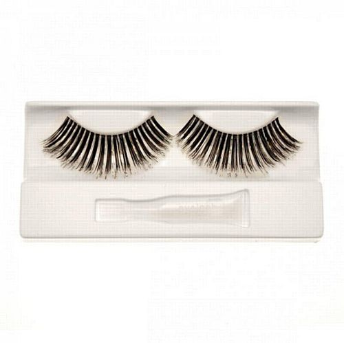 Fake Eyelashes Silver and Black