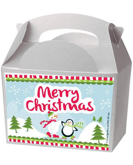 Click to view product details and reviews for Christmas Winter Wonderland Party Box Kit Pack Of 4.