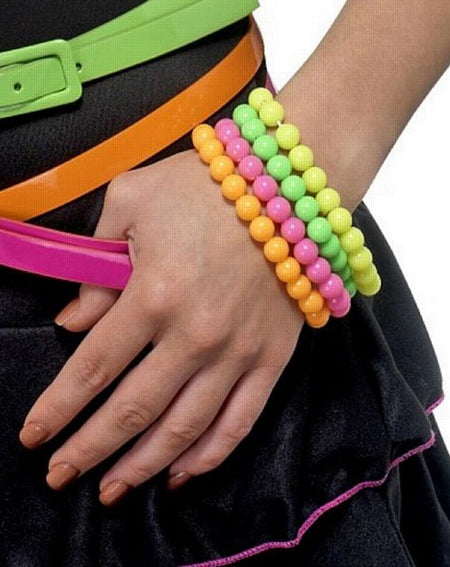 Click to view product details and reviews for Neon Beaded Bracelets.
