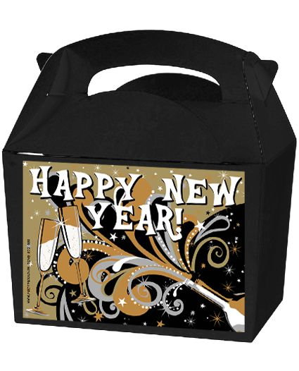 Click to view product details and reviews for New Years Bubbly Party Box Kit Pack Of 4.