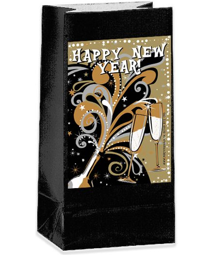 Click to view product details and reviews for New Years Bubbly Party Bag Kit Pack Of 12.