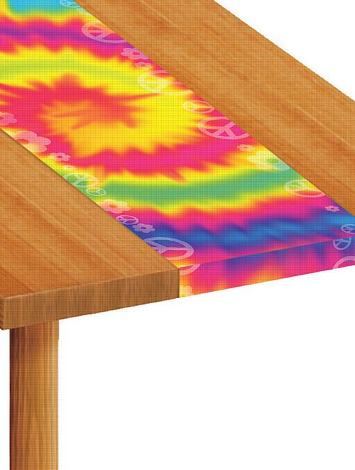 60's Scene Paper Table Runner - 120cm x 30cm