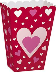 Hearts Treat Boxes - Pack of 6