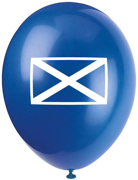 Click to view product details and reviews for St Andrews Flag Latex Balloons Pack Of 10 10.