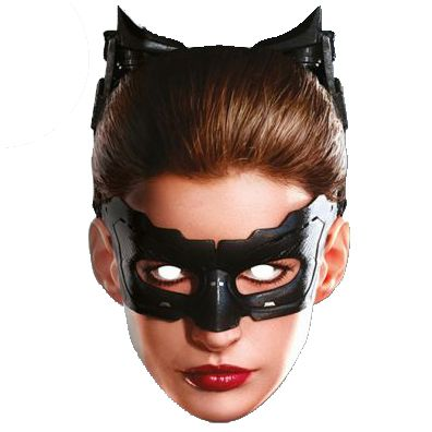 Catwoman Card Mask