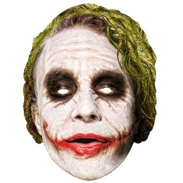 The Joker Card Mask