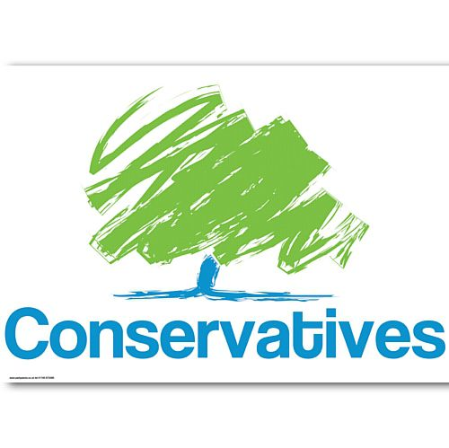 Conservative Party Poster - A3