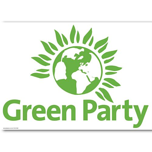 Green Party Poster - A3