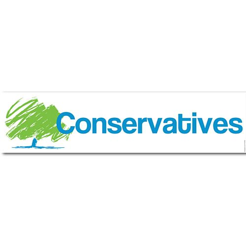 Conservative Party Banner - 1.2m