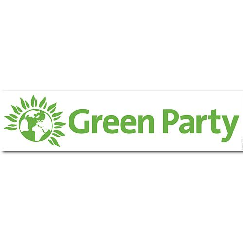 Green Party Banner - 1.2m