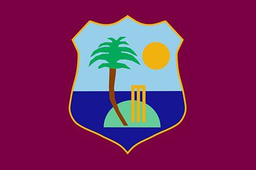 West Indies Polyester Fabric Flag 5ft x 3ft