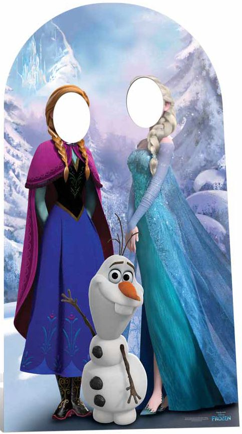 Official Disney Frozen Stand-In (Adult) - 1.88m