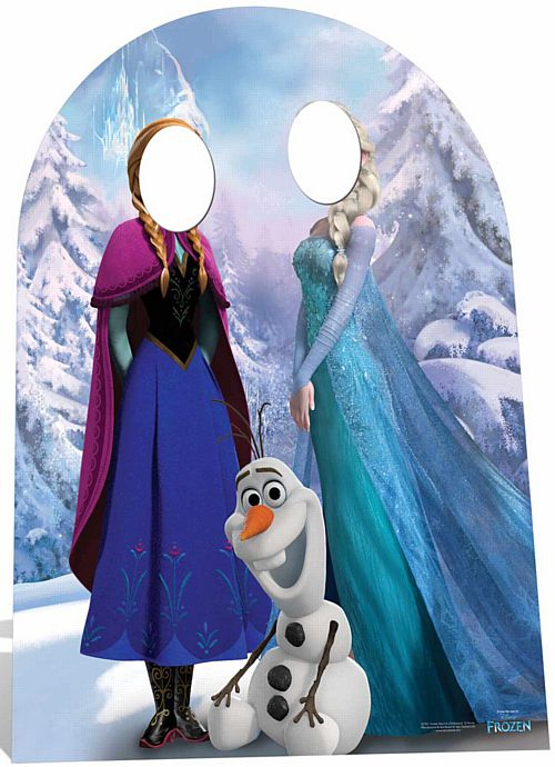 Official Disney Frozen Stand-In (Child) - 1.34m