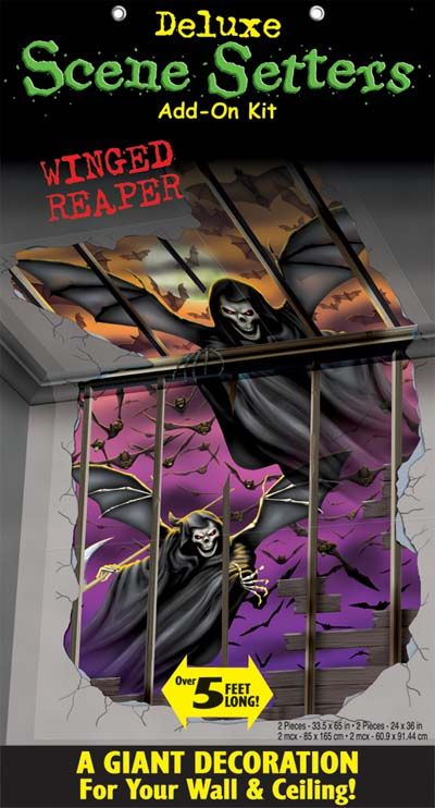 Winged Reaper Deluxe Scene Setter - Pack of 4