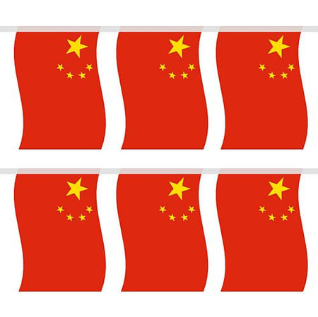 Chinese Large Flag Bunting 4m