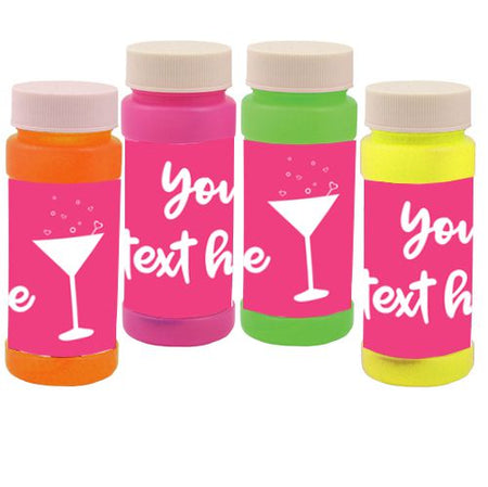 Personalised Bubbles - Hen Party - Pack of 6