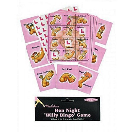 Click to view product details and reviews for Hen Night Willy Bingo Game.