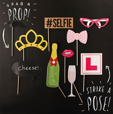 Click to view product details and reviews for Hen Party Photo Booth Props.