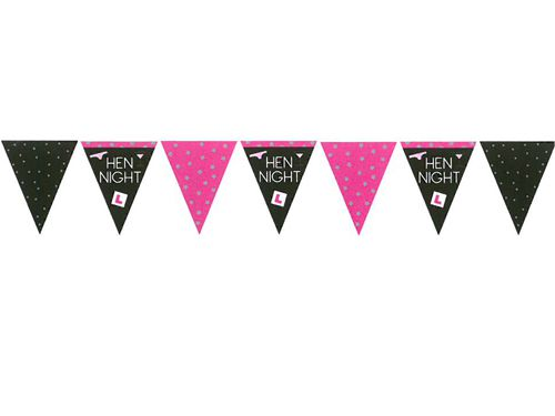 Hen Night Bunting- 3.7m