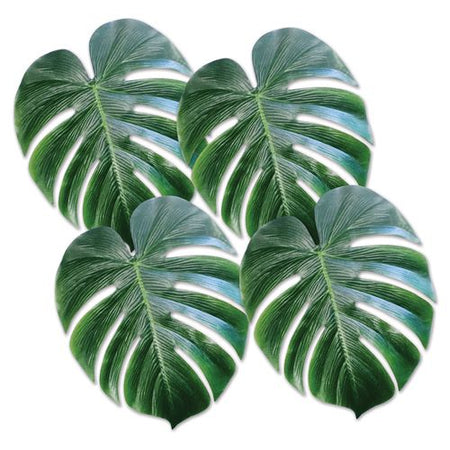 Tropical Palm Leaves - 33cm - Pack of 4