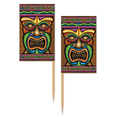 Tiki Picks - 6.4cm - Pack of 50