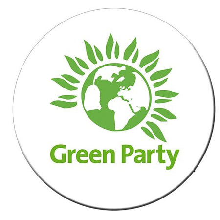 Click to view product details and reviews for Green Party Badge 58mm Each.