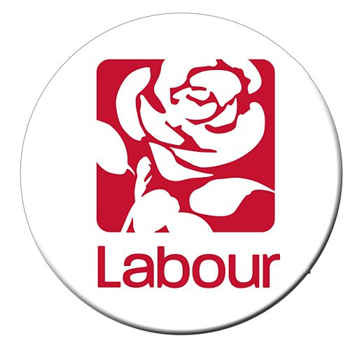 Labour Party Badge- 58mm- Each